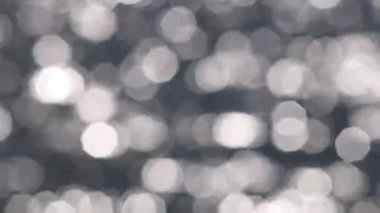 Bokeh soft focus water reflections — Stock Video