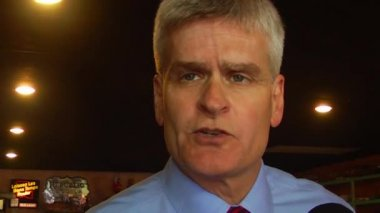 Louisiana Congressman and Republican Senate candidate — Stock Video