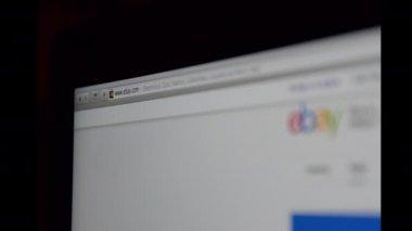 Ebay website Url — Stockvideo