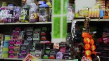 Boutique des épices intérieurs — Vidéo