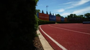 Track at Princeton University — Stock Video