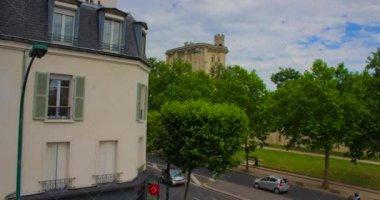 French castle Chateau de Vincennes — Stock Video