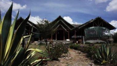 Tradycyjny dom kenijski — Wideo stockowe