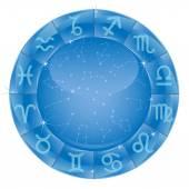 Zodiac circle — Stock Vector
