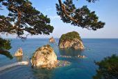 Island Sea of ??Japan. — Stock Photo