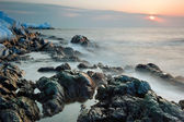Maritime winter landscape. — Stock fotografie