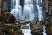 Jet waterfall Unexpected. — Stock Photo