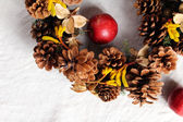 Christmas wreath — Foto de Stock