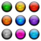 Button Color BESTSELLERS — Stock Photo
