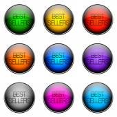 ボタン色のベストセラー — ストック写真