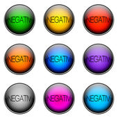 Button Color NEGATIV — Stock Photo