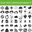 Icon Set Communication II — Stock Vector #75362403