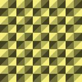 Pattern Vector Seamless Polygon Triangle yellow — Cтоковый вектор