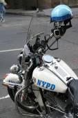 Moter cycle New York Police, USA — Fotografia Stock