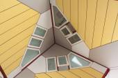 Cube house detail — Stock Photo