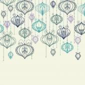 Celebratory lanterns background — Stock Vector