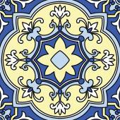 Ornamental  tile background — Stock vektor