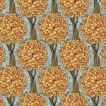 Seamless mönster med höstträd — Stockvektor  #63330741