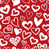 Valentine's Day Seamless pattern — Stock Vector