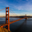San Francisco Golden Gate Bridge and cityscape at sunset — Stock Photo #65230641
