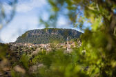 View of the beautiful village Valldemossa in Majorca — Stock Photo