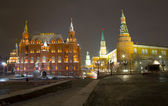 Red Square, Night, Moscow, Russia — Stock Photo