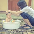 Mother and baby , Family scene — Stock Photo #72150713