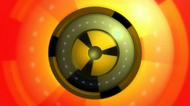 Moving  nuclear reactor — Stock Video