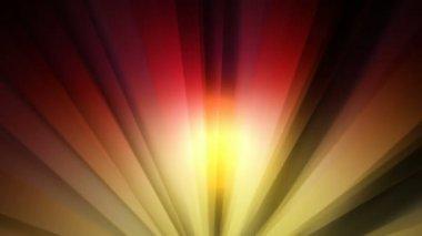 Abstract sun rays — Stock video