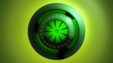 Moving energy generator — Stock Video