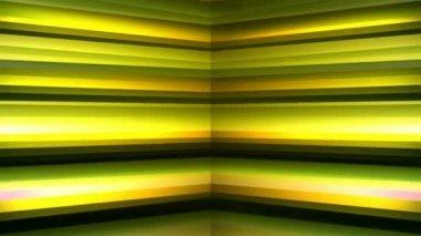 Moving striped corner — Stock Video