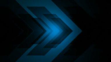 Abstract shining arrow — Stock video