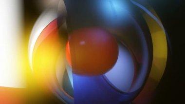 Glass shine overlay — Stock Video