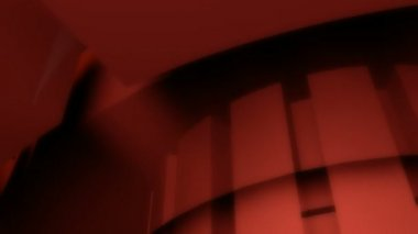 Dark red glowing reactor — Stock Video