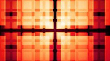 Moving orange squares — Stock Video