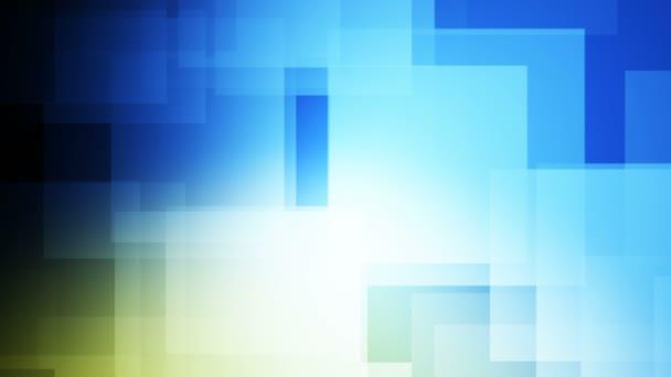Focos cuadrados móviles — Vídeo de stock