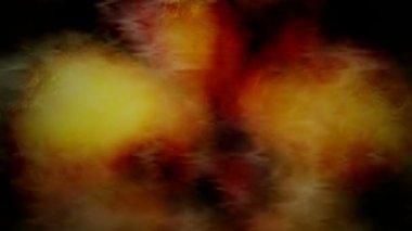 Flickering  fractal bleed — Stock Video
