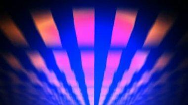 Abstract retro purple rays — Stock Video