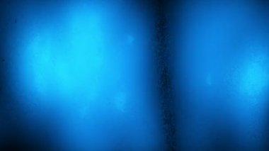Flickering crystal spotlights — Stock Video