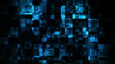 Flickering blue grunde — Stock Video
