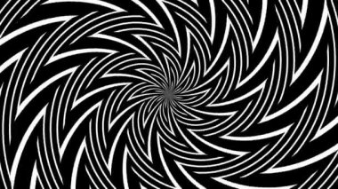 Abstract hypnotic background — Stock Video