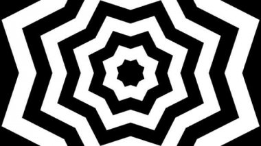 Moving hypnotic patterns — Stock Video