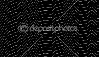 Moving white wavy lines — Stock Video