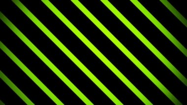 Moving green slanted stripes — Stock Video