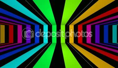 Moving bending stripes — Stock Video