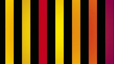 Colorful vertical stripes — Stock Video