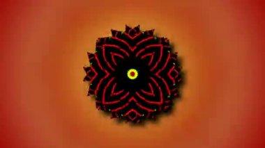 Beautiful kaleidoscopic patterns — Stock video