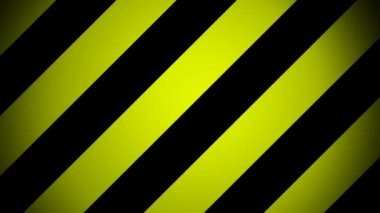 Moving yellow slanted stripes — Stock Video