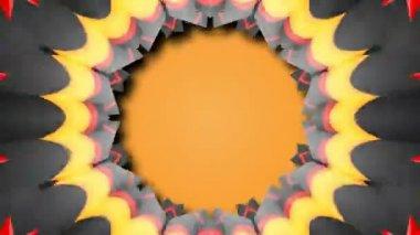 Beautiful kaleidoscopic patterns — Wideo stockowe