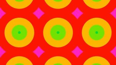Beautiful colorful kaleidoscopic patterns — Stock video